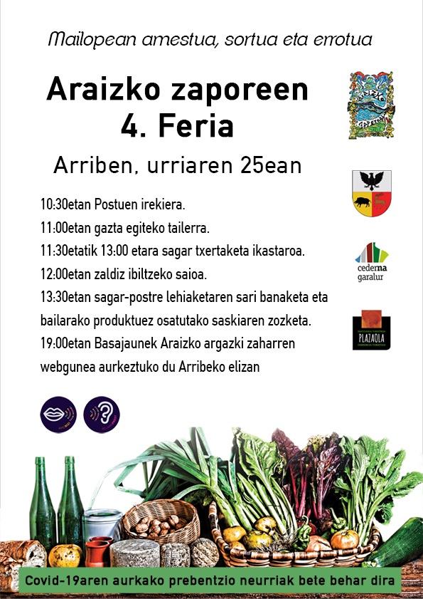 Araizko Zaporeen 4. feria